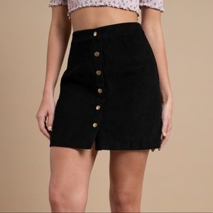 Ilyn Corduroy A-Line Skirt